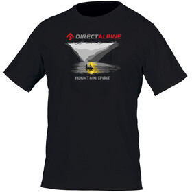 Directalpine Crack t-shirt Heren Mountain Spirit zwart